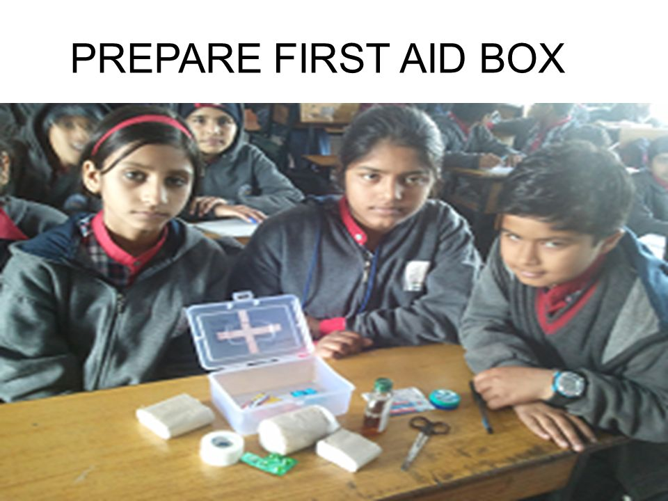 PREPARE FIRST AID BOX