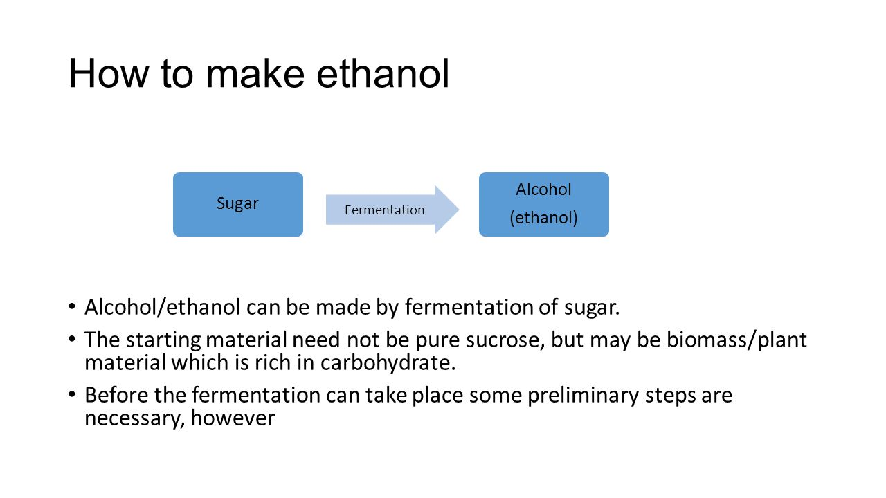 an experiment to understand the fermentation process in different carbohydrates Recognize the effects of environment on fermentation 5 understand the process of aerobic cellular respiration the process by which cells release energy stored in carbohydrates is when oxygen is in low supply, the organisms switch to a different pathway called fermentation in.