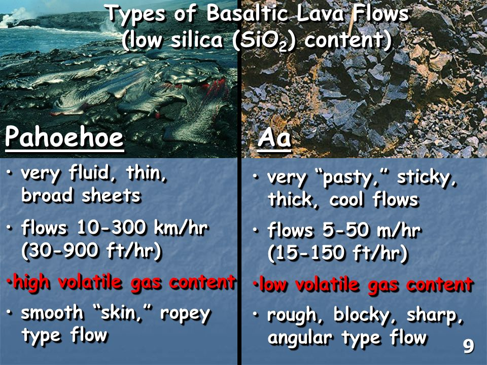 Basalt Silica Content Of : Volcanism and other igneous processes ppt download