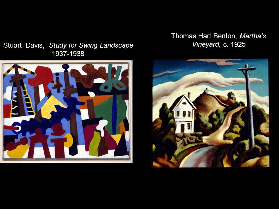Thomas Hart Benton Martha S Vineyard C Ppt Video