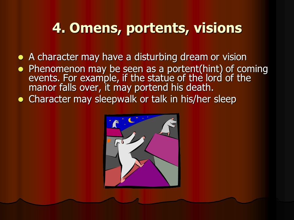 Elements of gothic literature ppt video online download for Portend or portent