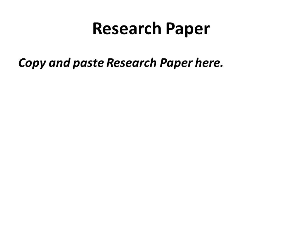 Epidemiology Paper Essay Sample