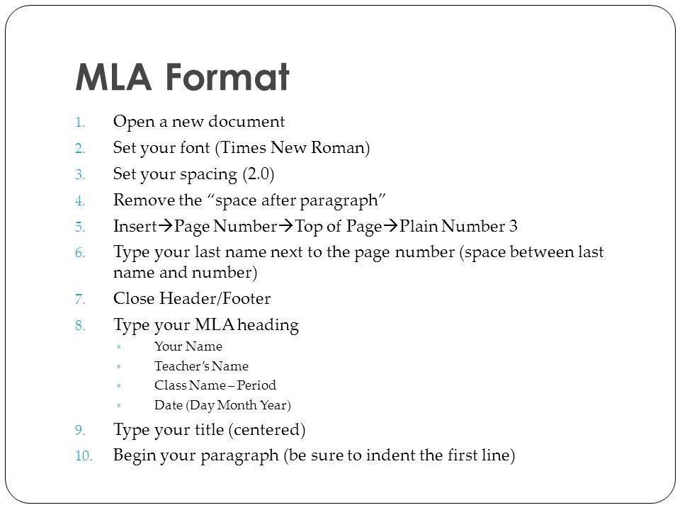 heading for mla format essay In the liberal arts and humanities fields, mla, short for modern language association is a commonly used format for writing papers using this format gives the papers, a good structure and makes the content easy to understand.