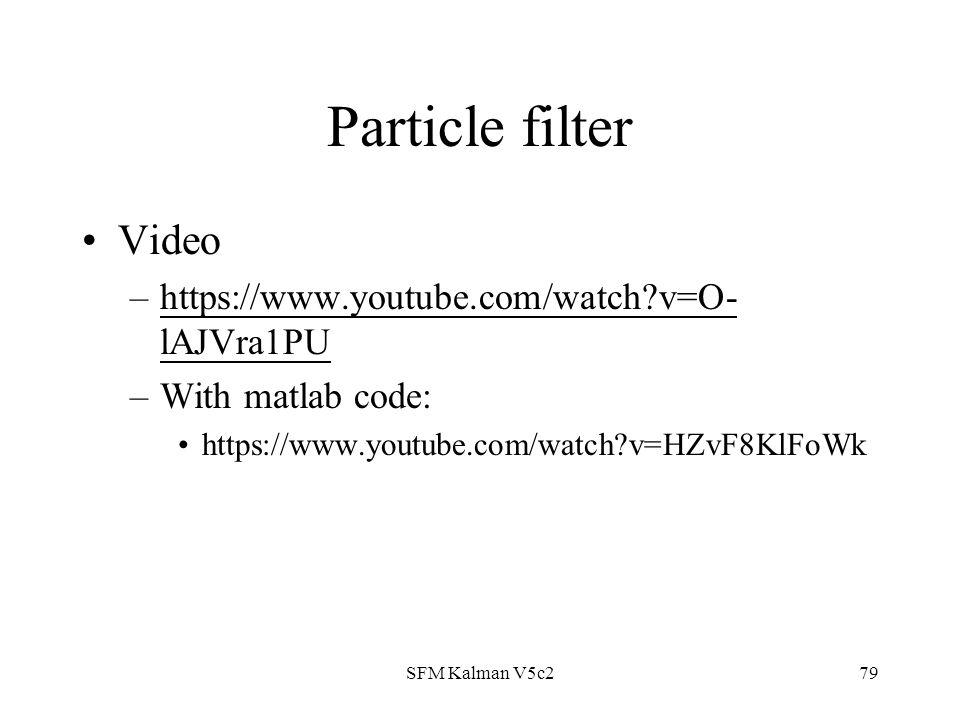 filter matlab code
