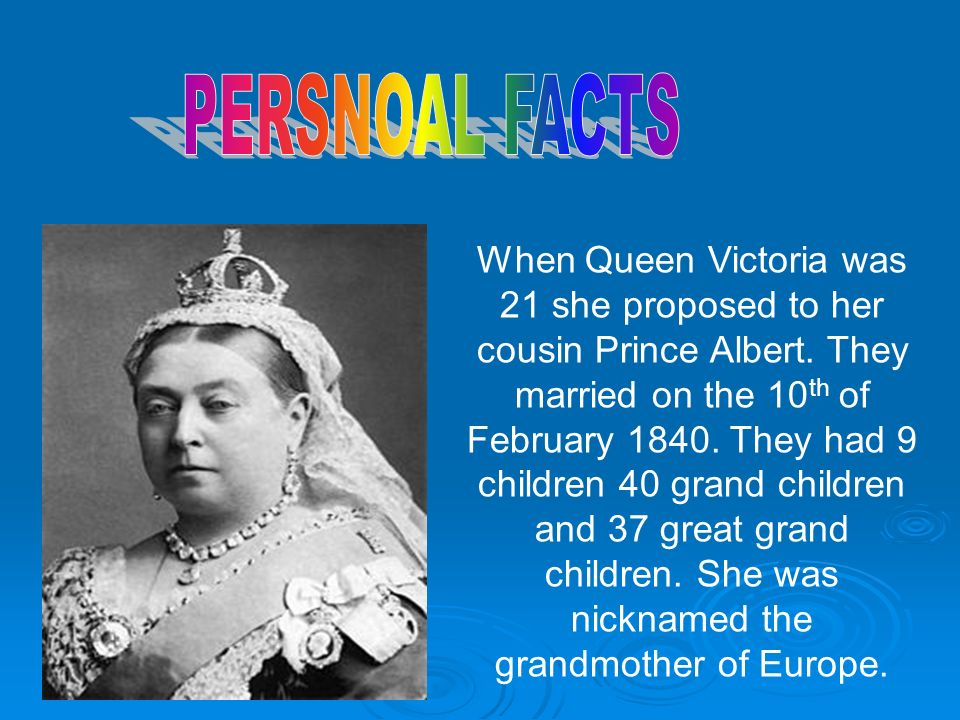 Queen Victoria By Lucy K And Marina Ppt Download