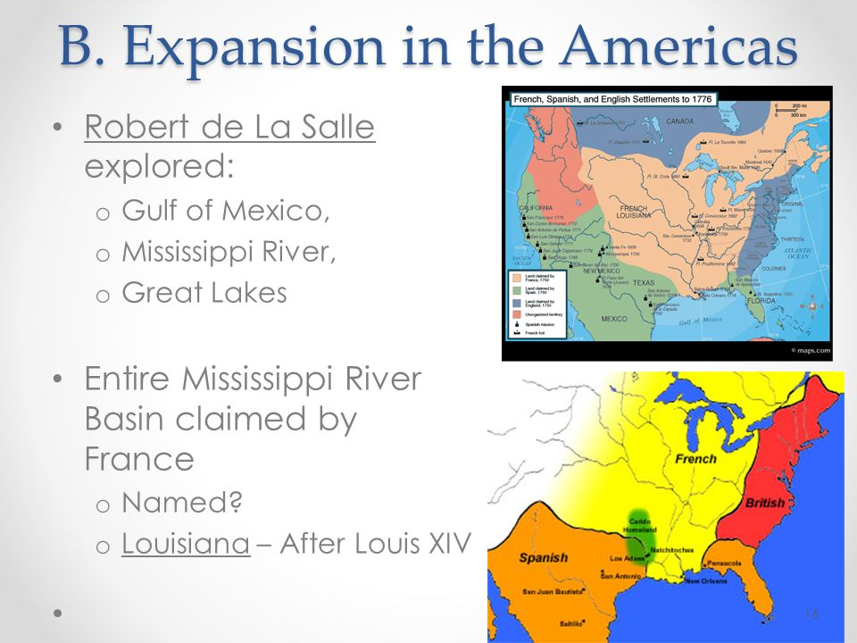 B. Expansion in the Americas