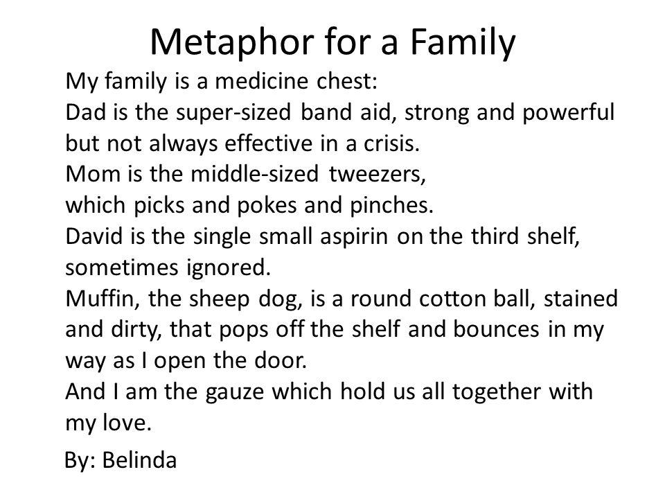 Metaphor Essay Man Extended Metaphor Examples
