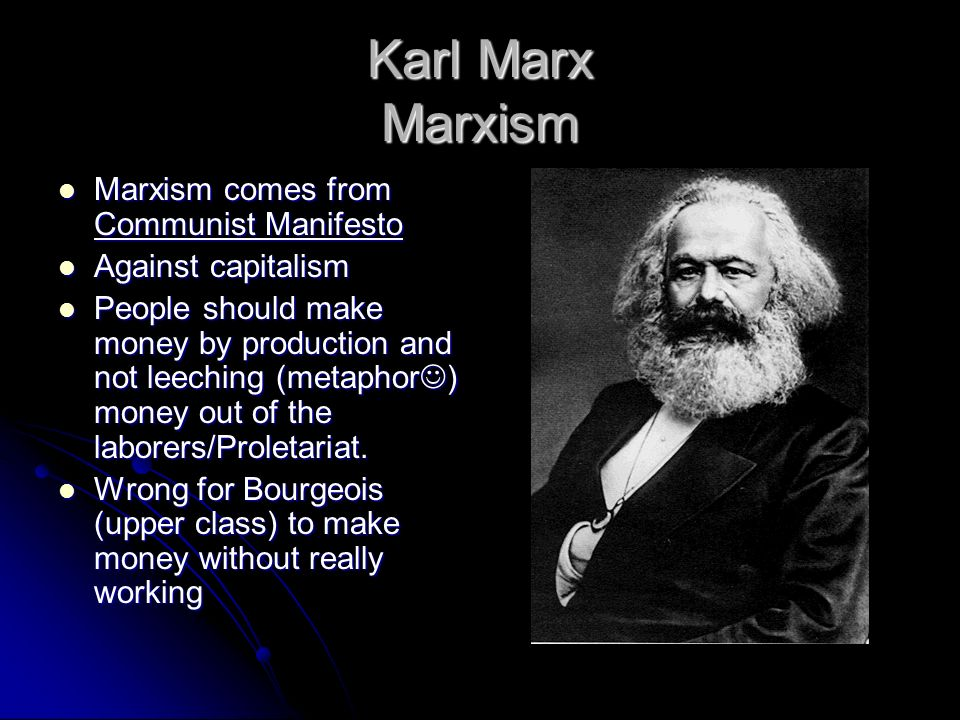 karl marx beating capitalism with communism The road to south african freedom  extreme form with the development of capitalism and especially of the great diamond and gold-mining  karl marx.