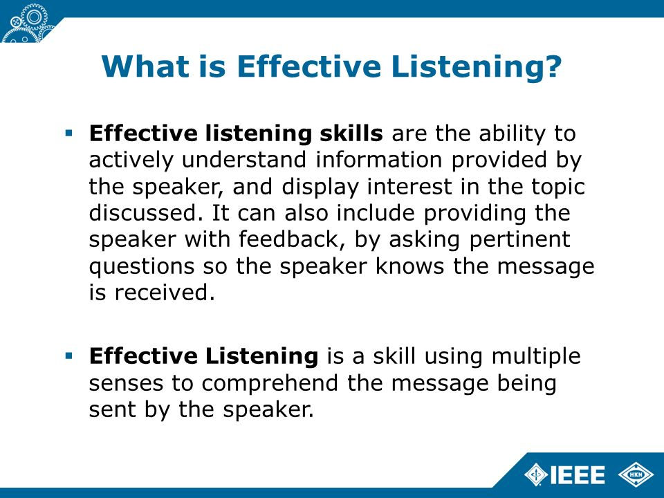 the importance of active listening skills in effective communication It emphasizes the importance of active listening to overcome such predispositions  cultural barriers to effective communication  poor listening skills.