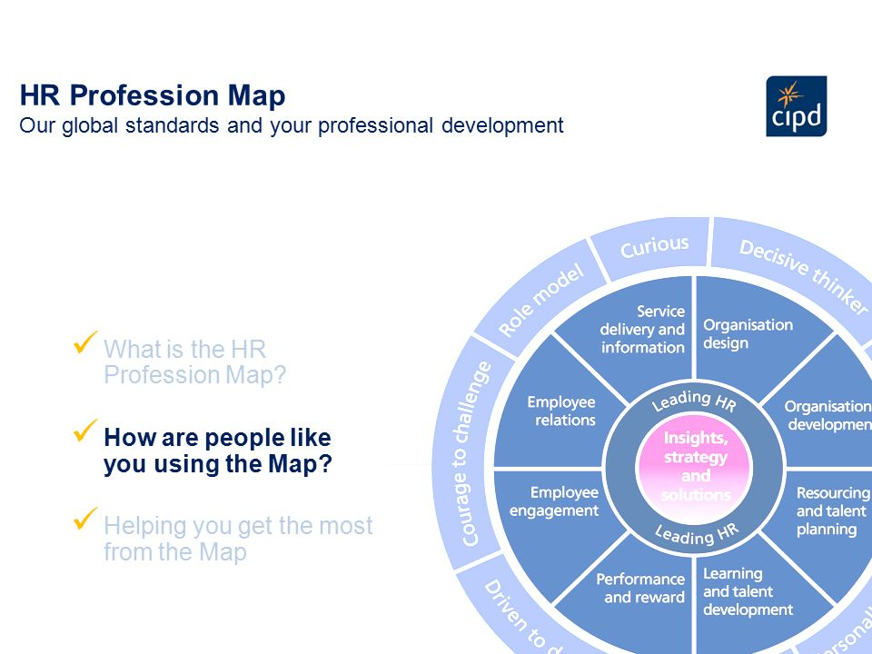 cipd profession map and hrld practitioner services essay