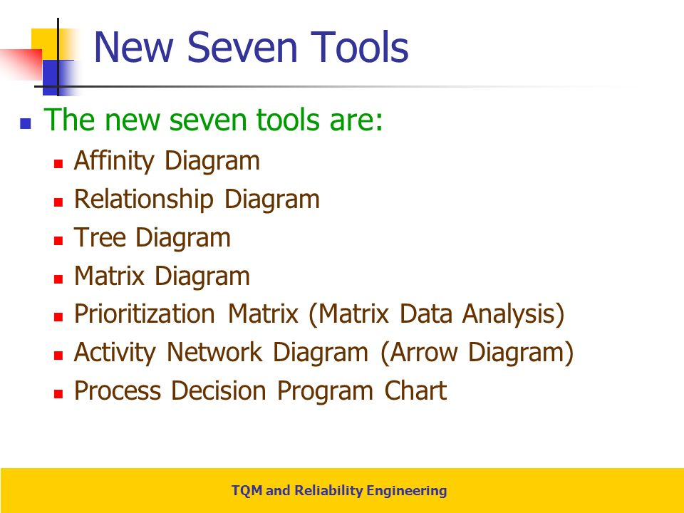 Cqi tools matrix diagram wiring diagram tqm and reliability engineering ppt video online download 7 qc tools cqi tools matrix diagram ccuart Image collections