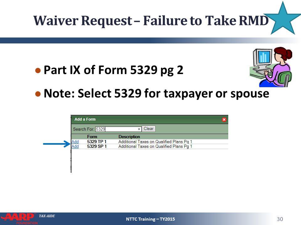 Form 5329 Waiver Example Heartpulsar