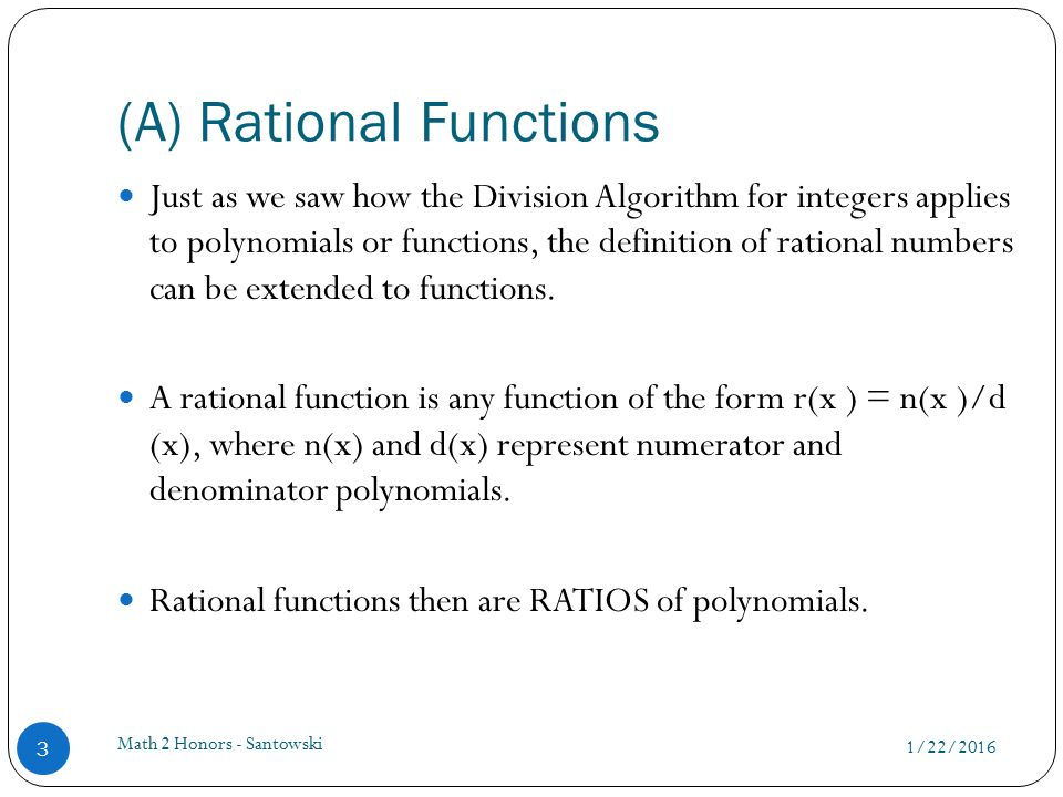 lesson 24 � graphs of rational functions ppt video