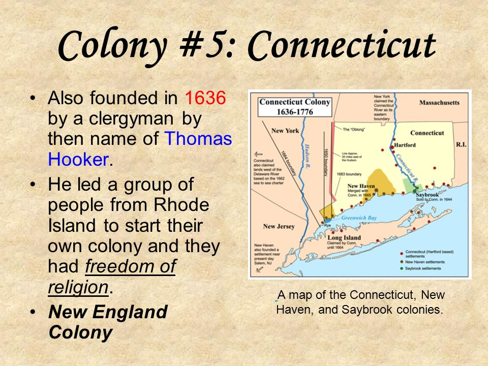 A Map Of Rhode Island Colony