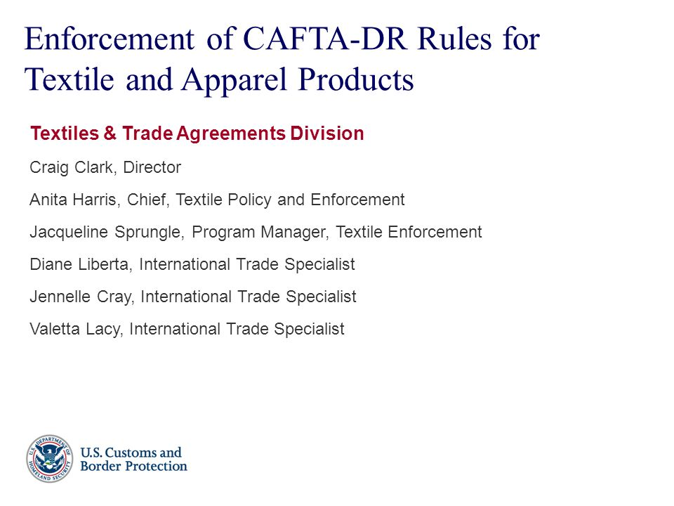Cafta dr rules for textile and apparel products ppt download enforcement of cafta dr rules for textile and apparel products platinumwayz