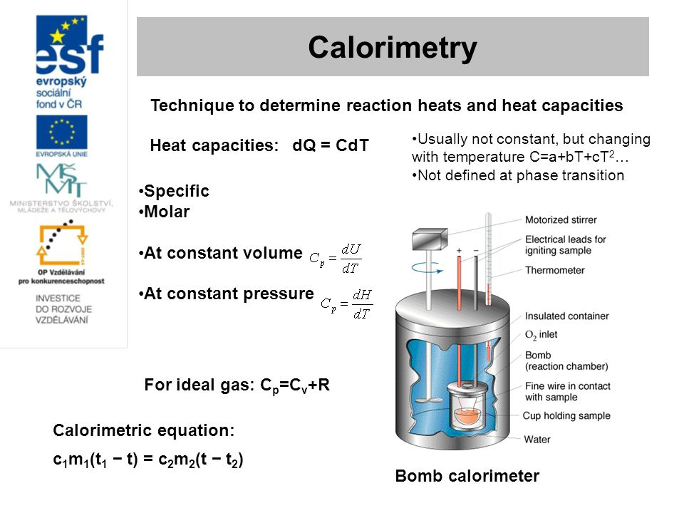 an ice calorimeter determination of reaction Heats of transition, heats of reaction, speci c heats, and hess's law goal and overview a simple calorimeter will be made and calibrated it will be used to determine the heat of.