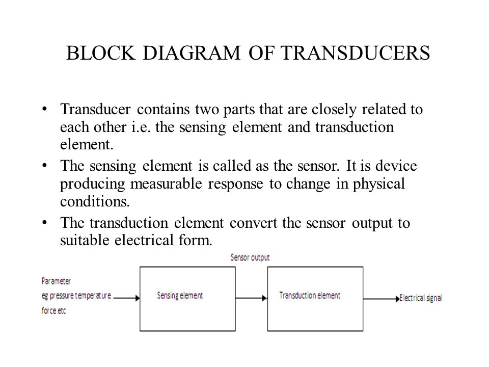 transducers. - ppt download, Wiring block