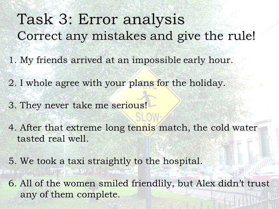 an analysis of the 3 mistakes Below, i describe three of the most common pitfalls related to conjoint analysis and tips on how to avoid them pitfall #1: rushing the design this is the most common pitfall, but it's also be the easiest one to avoid.