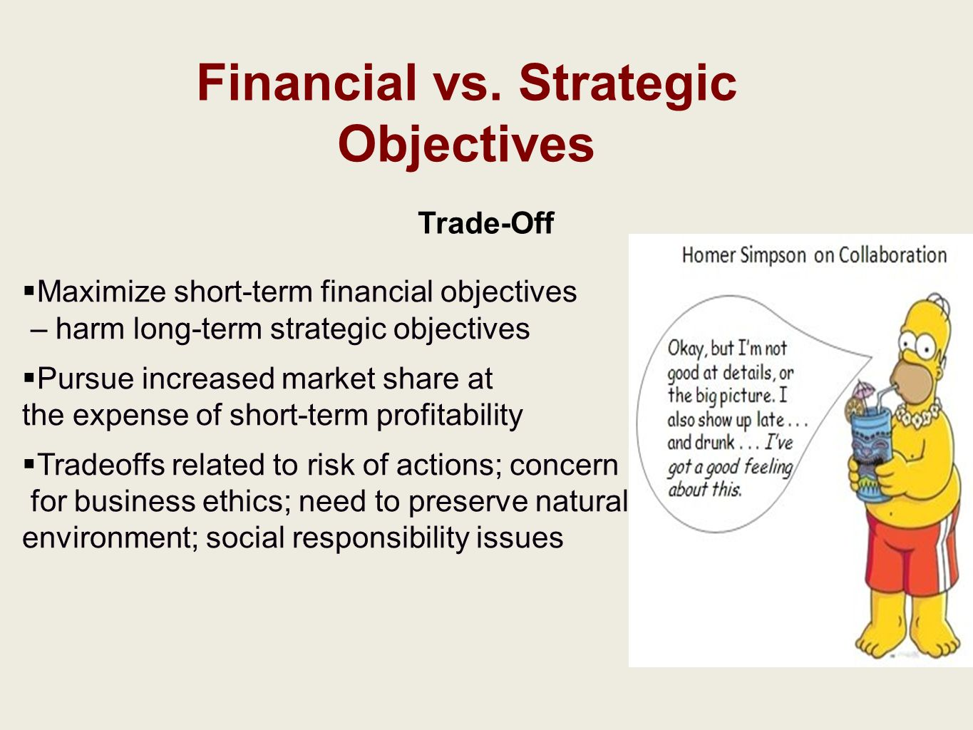 Four Examples of Financial Objectives in a Marketing Plan
