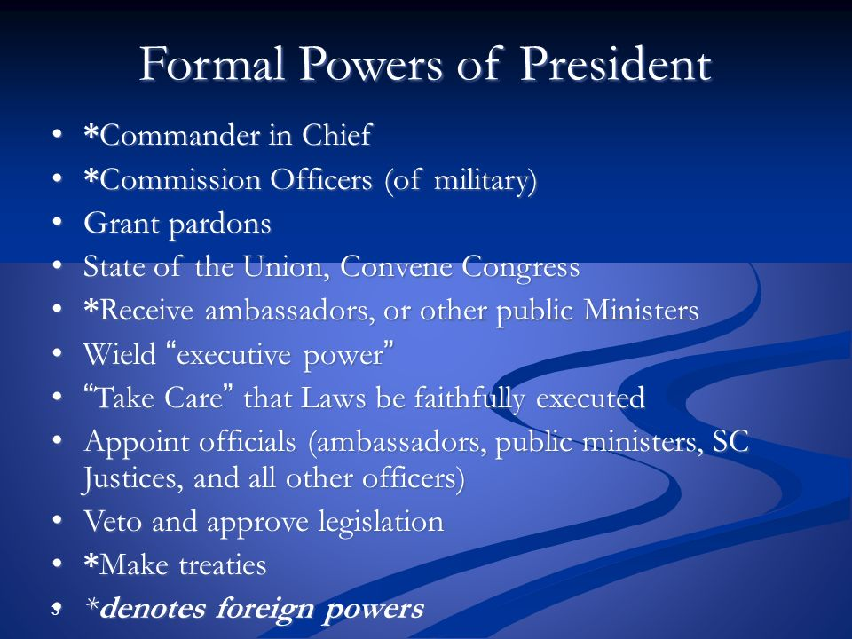 The Presidency and Bureaucracy - ppt video online download