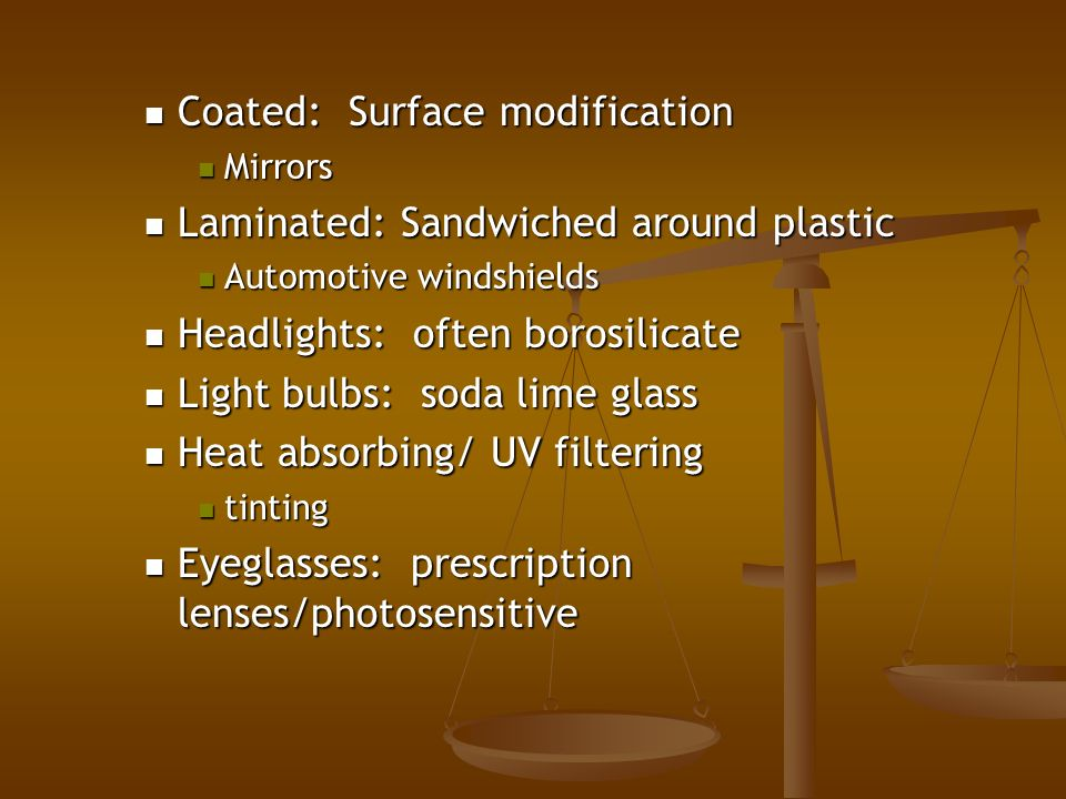 an introduction to the analysis of soda lime glass Keywords: soda-lime-silicate glass, glass microscopy, three-point bend testing,  modulus of rupture 1 introduction soda-lime-silicate glass is one of the most.