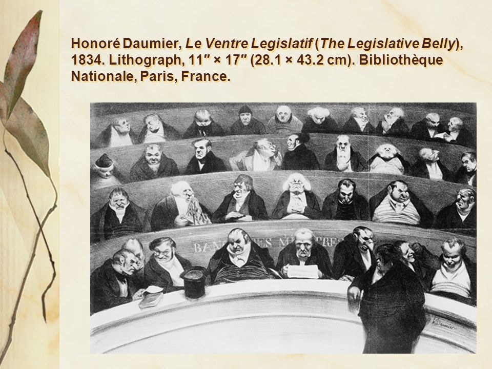 le ventre legislatif analysis View le ventre législatif by honoré daumier on artnet browse upcoming and past auction lots by honoré daumier.