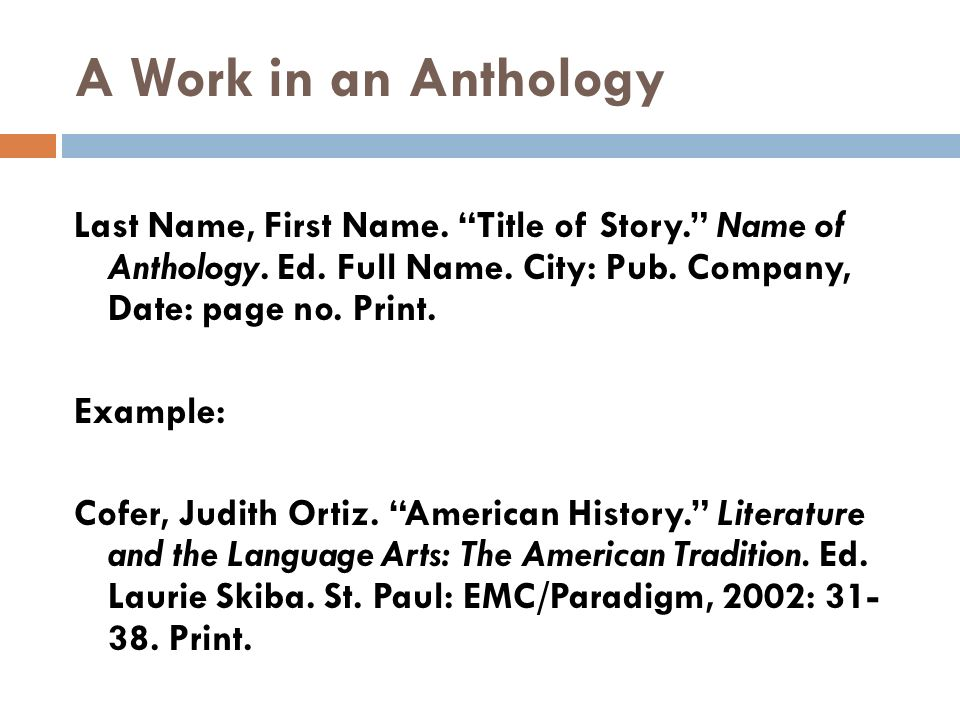 A new anthology of essays