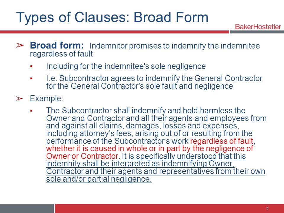 Deconstructing anti-indemnity in Texas, Louisiana, California and ...