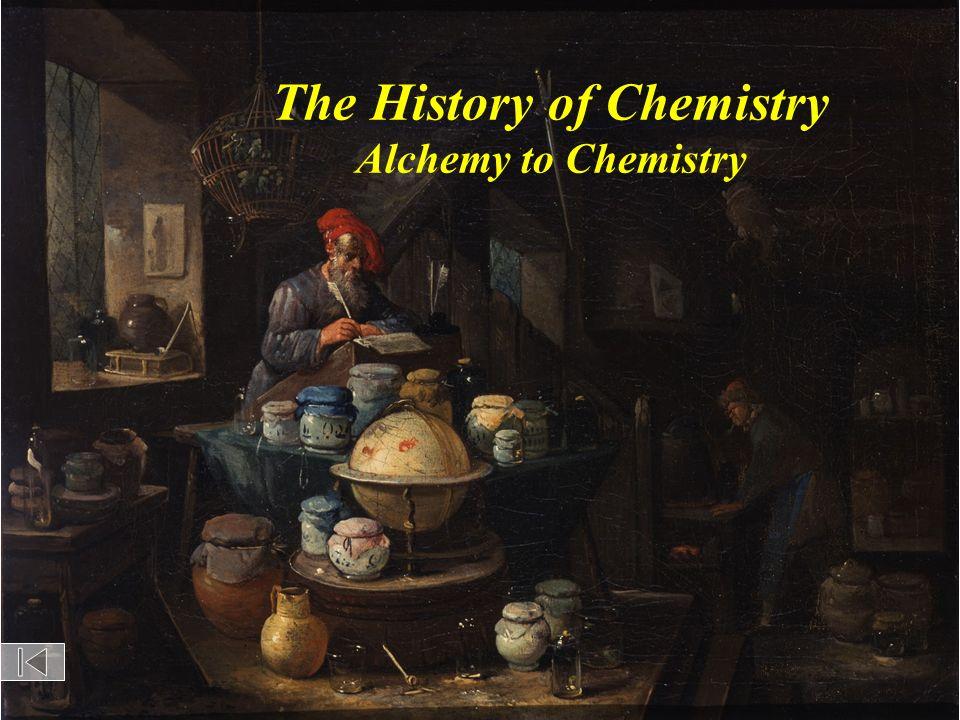 The History of Chemistry Alchemy to Chemistry