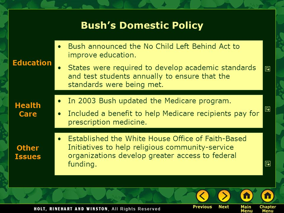 Economic policy of the George W. Bush administration