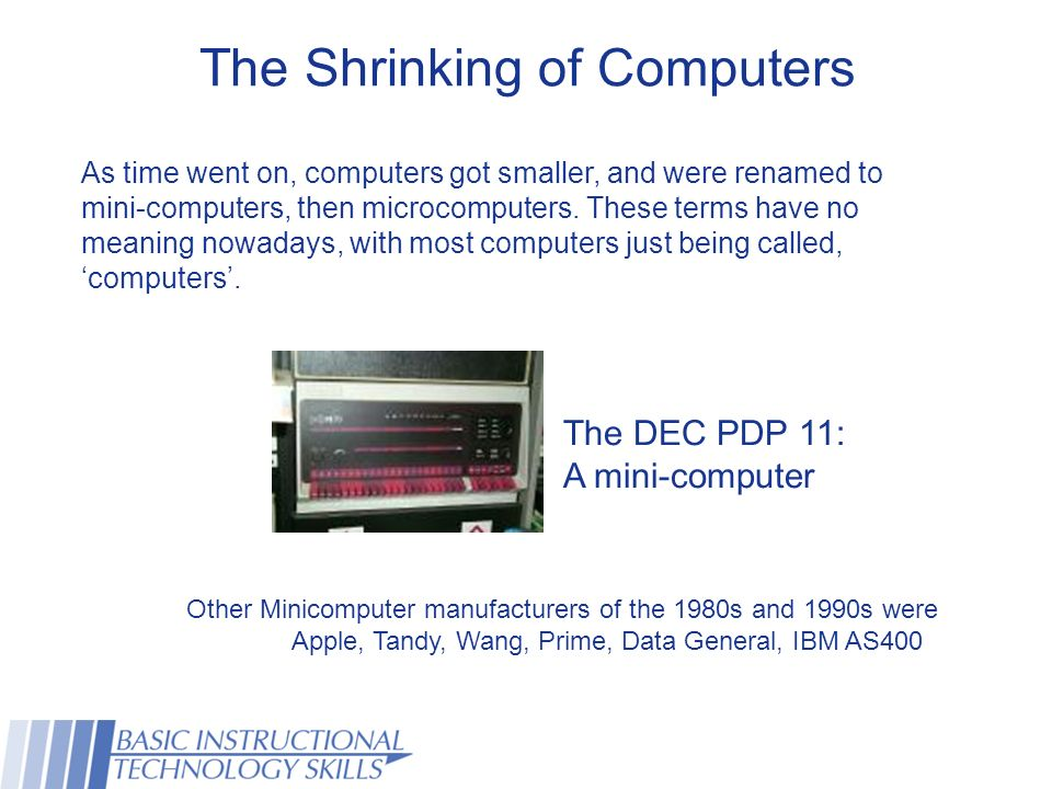 This Presentation Will Cover The Concepts Behind The Computer