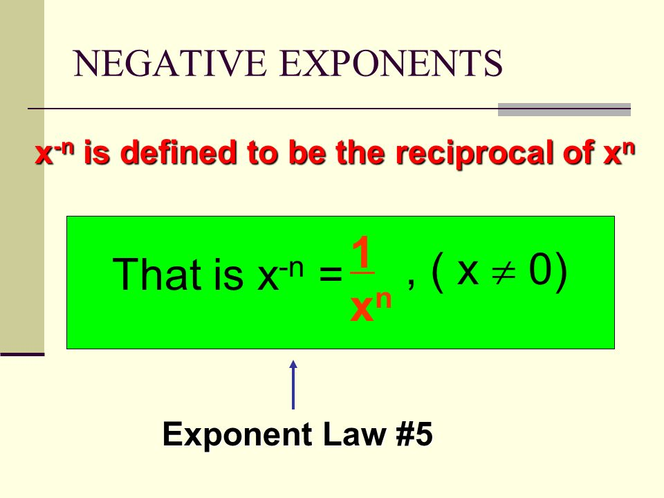 negative reciprocity definition