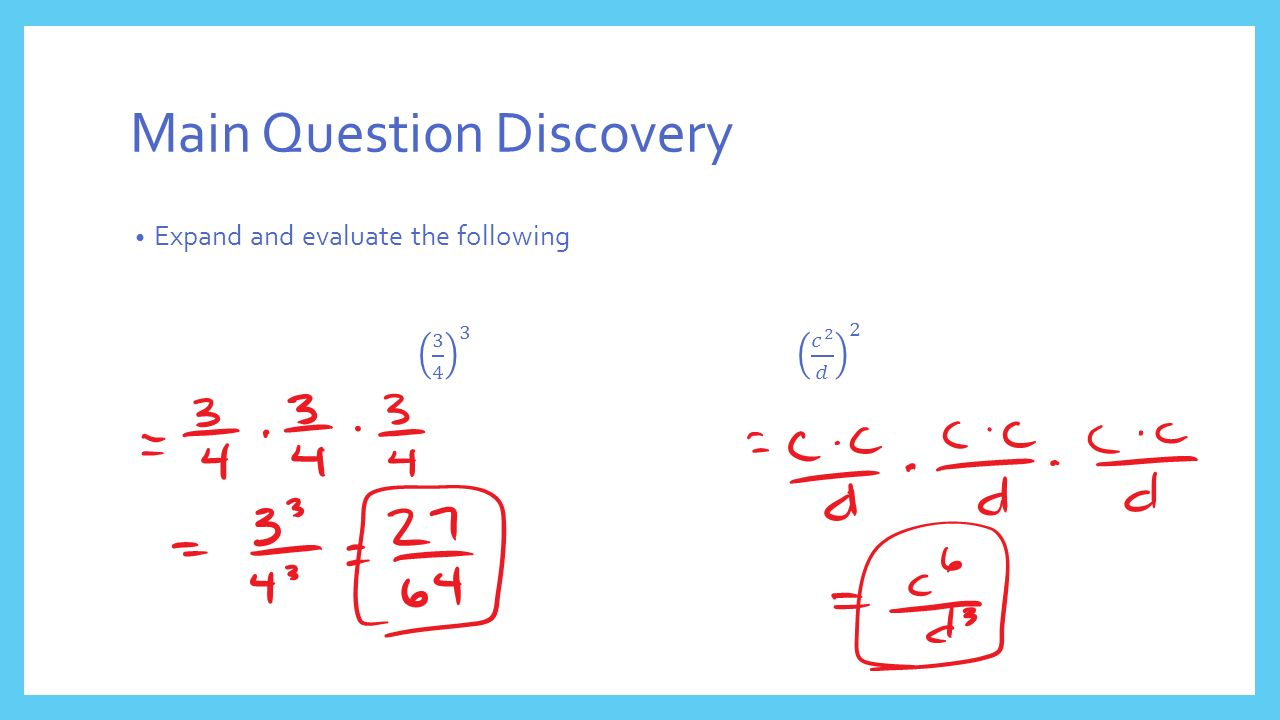 Main Question Discovery