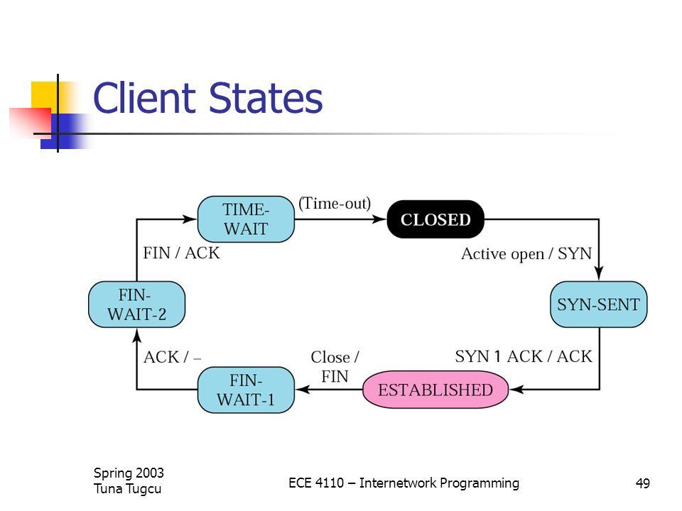 ECE 4110 – Internetwork Programming