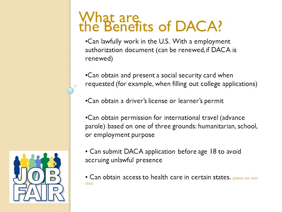 Daca deferred action for childhood arrivals ppt video online 4 what yelopaper Choice Image