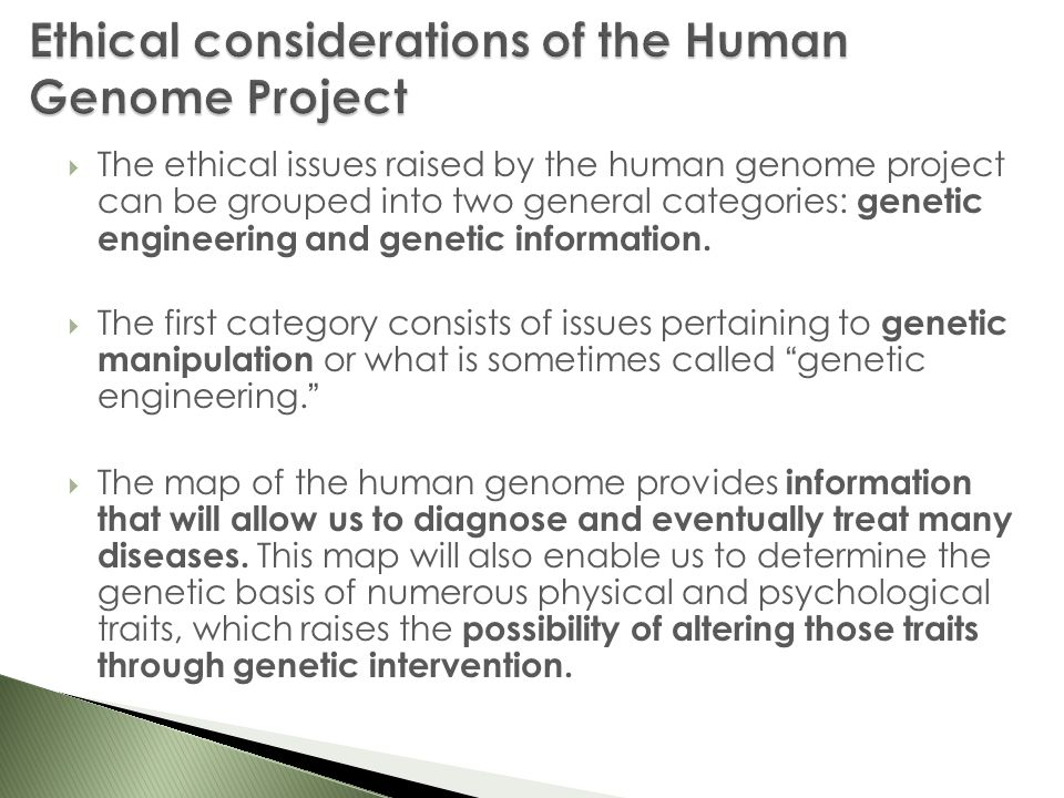 explain the moral issues of genetic Read chapter 8 social, legal, and ethical implications of genetic testing: raising hopes for disease treatment and prevention, but also the specter of dis.