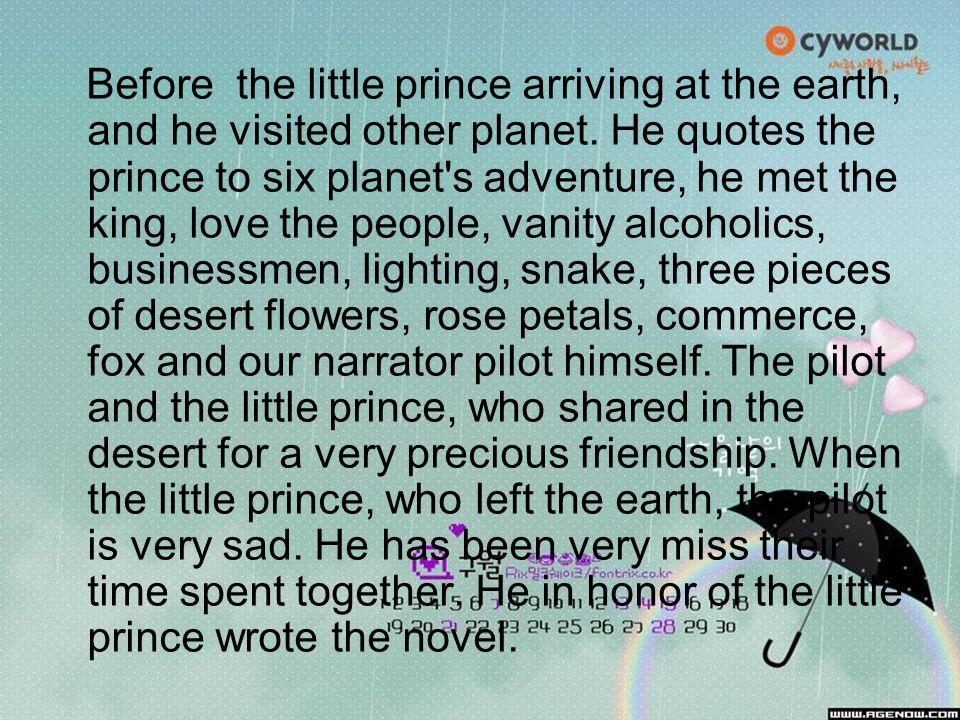 The Little Prince Love Quotes: The Little Prince Antoine De Saint-Exupéry.