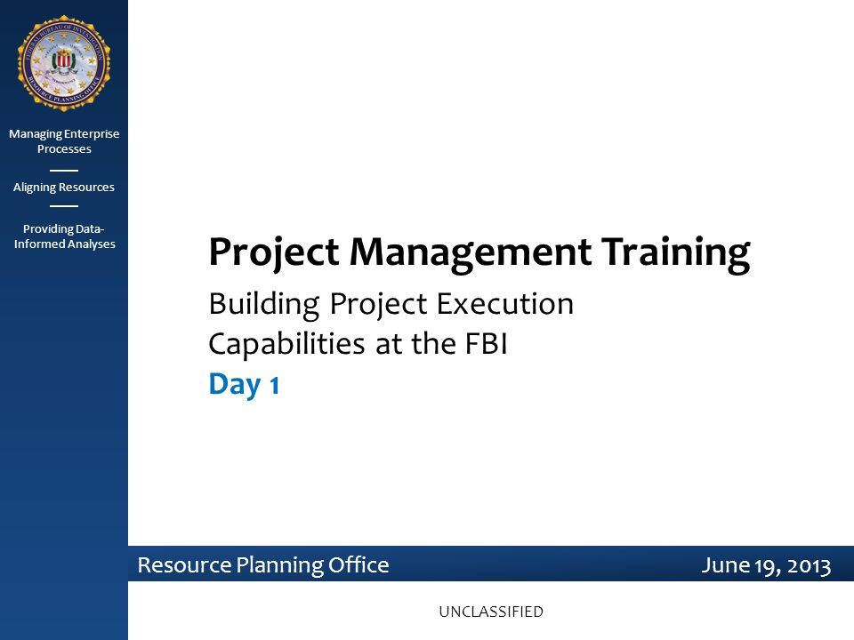 Project Management Training Ppt Video Online Download