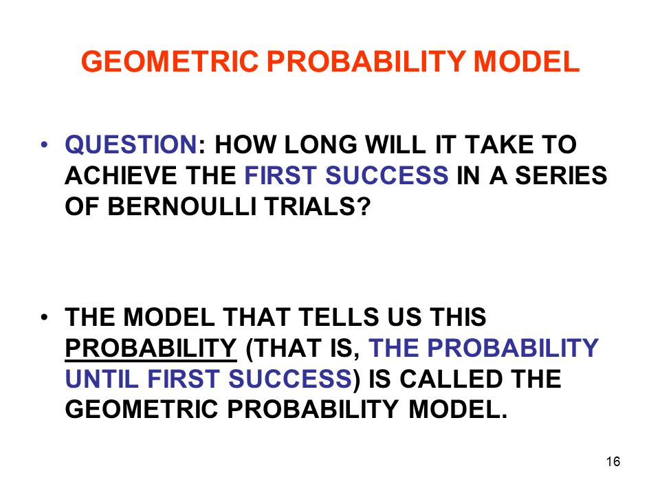 Chapter 17 Probability Models. - ppt video online download