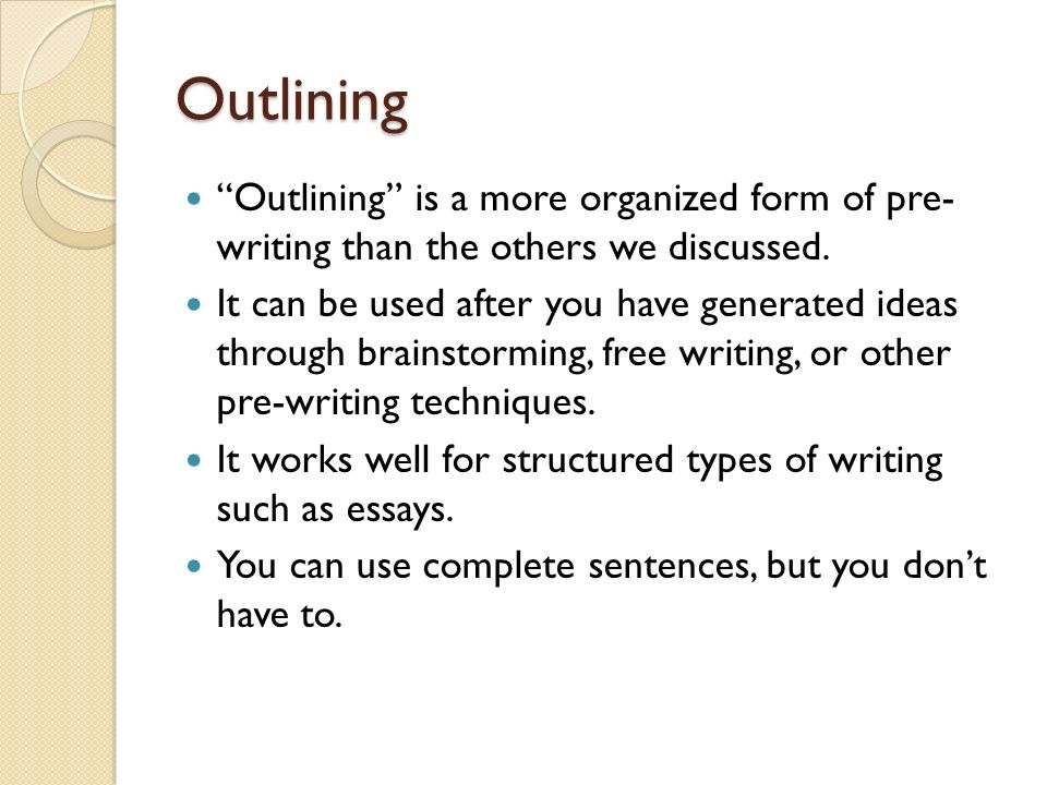 types of writing strategies Home / writing resources / strategies for essay writing / essay structure   although there are guidelines for constructing certain classic essay types (eg .