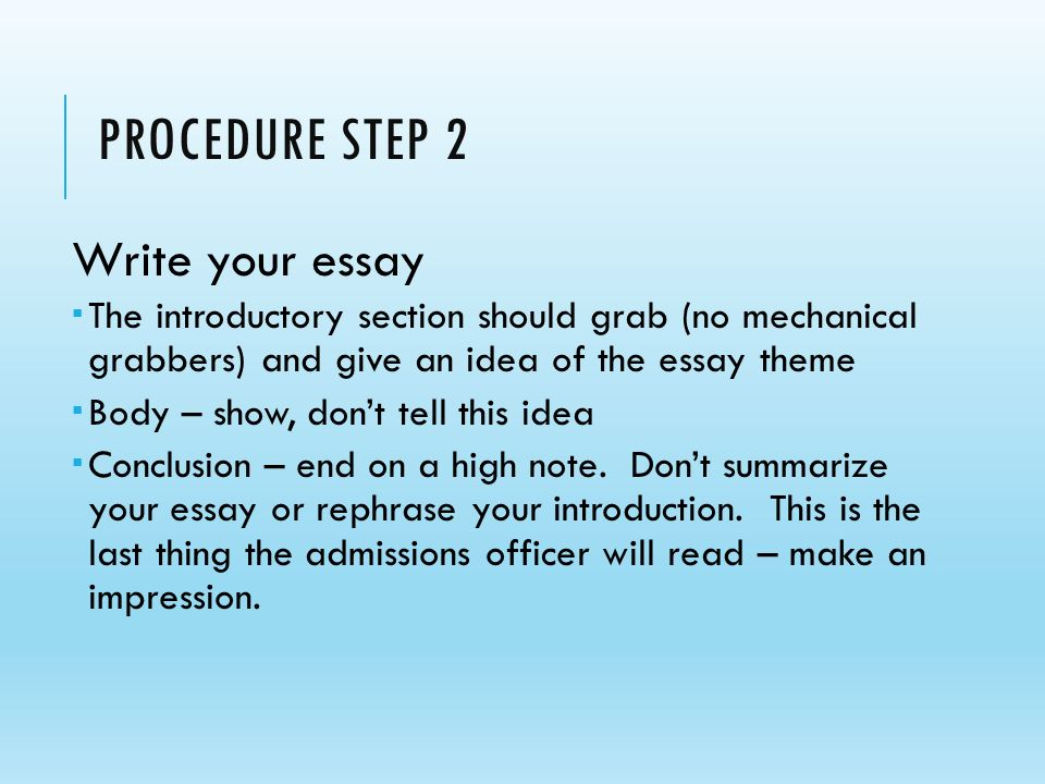 How To Write A Good Conclusion For A Formal College Essay     Model Essay Structure