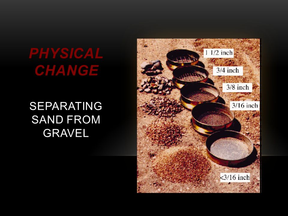 sand and gravel physical properties pdf