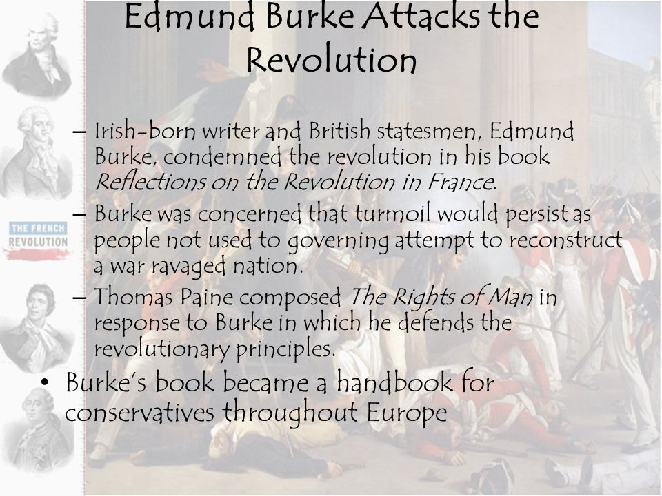 edmund burke essay on french revolution John whale, ed, edmund burke's reflections on the revolution in france: new  interdisciplinary essays texts in culture series manchester:.