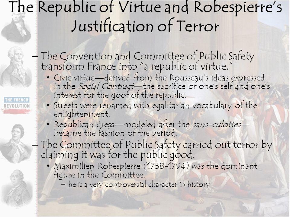 Robespierre justification of terror essay