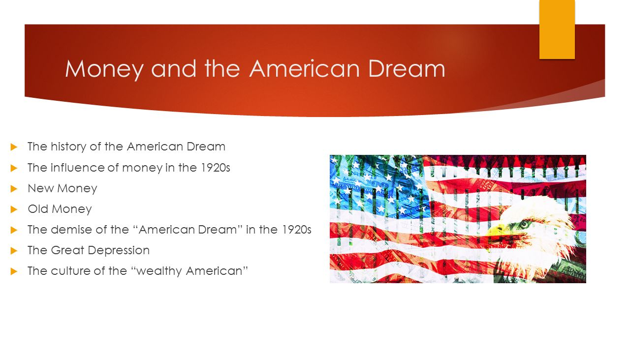 the american dream research paper If you are assigned to write my american dream essay , you need to choose an original topic and have other ideas on so you can define and write it in different ways there are countless.