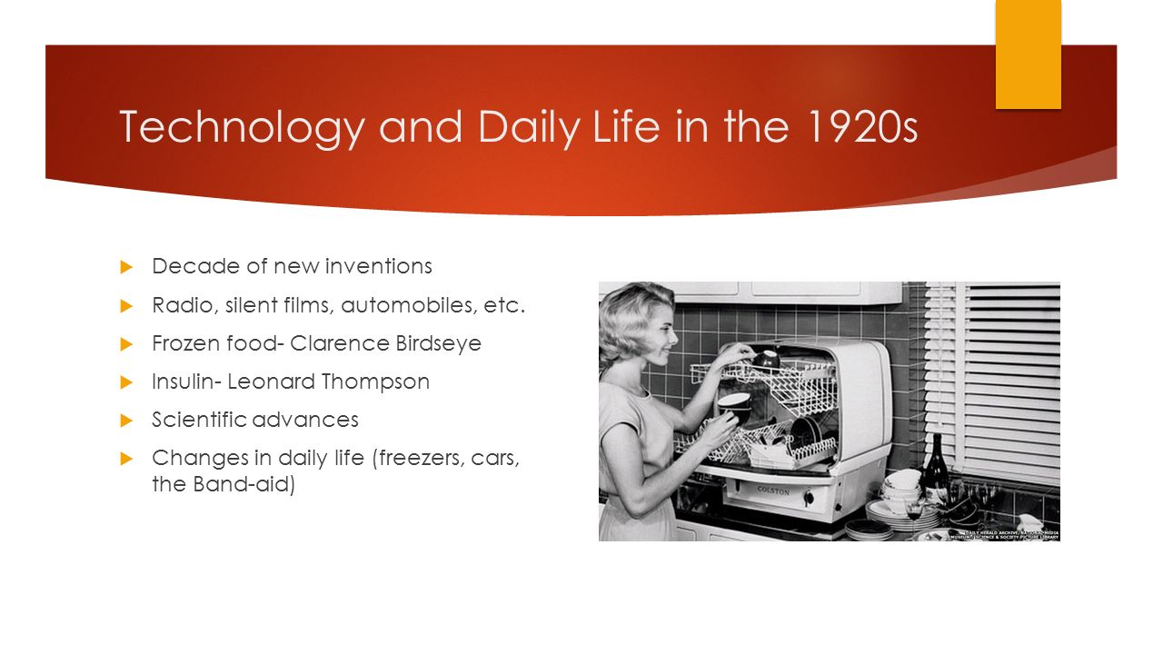 What Was The Impact Of New Technologies In The 1920s