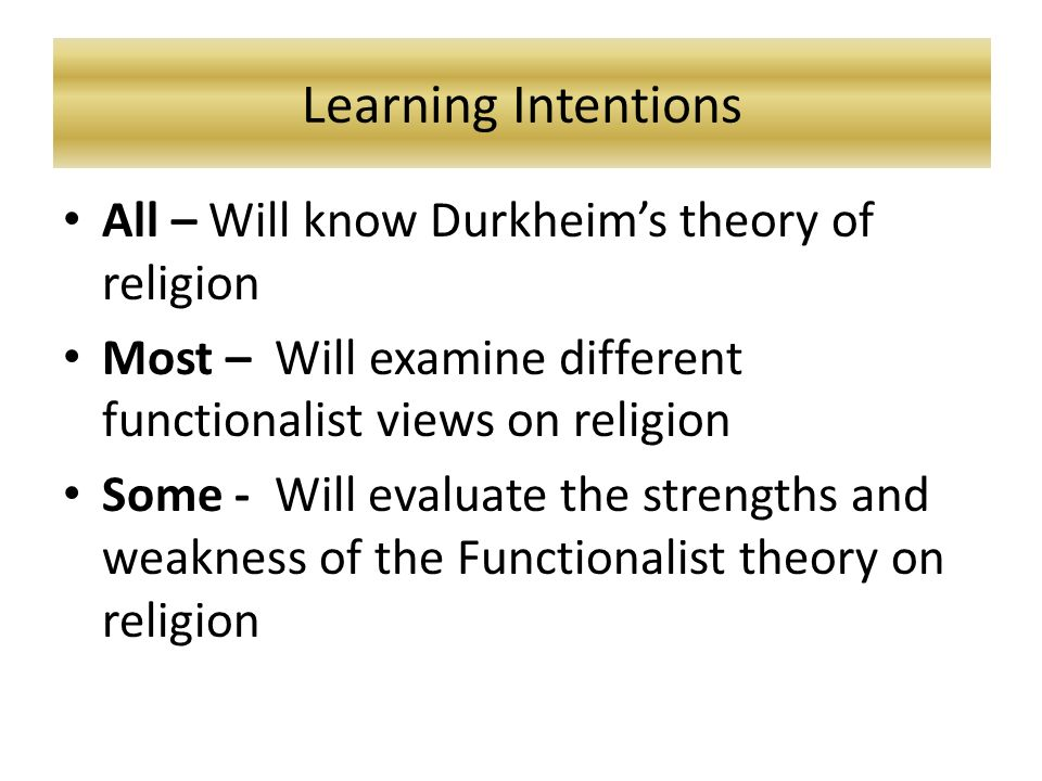 durkheims definition of religion sacred 1 norbert wiley university of illinois, urbana durkheim's anomoly: the sacred self durkheim has always been criticized for neglecting the individual in favor of the social structure (seger 1957 the reviews of elementary forms of the religious.