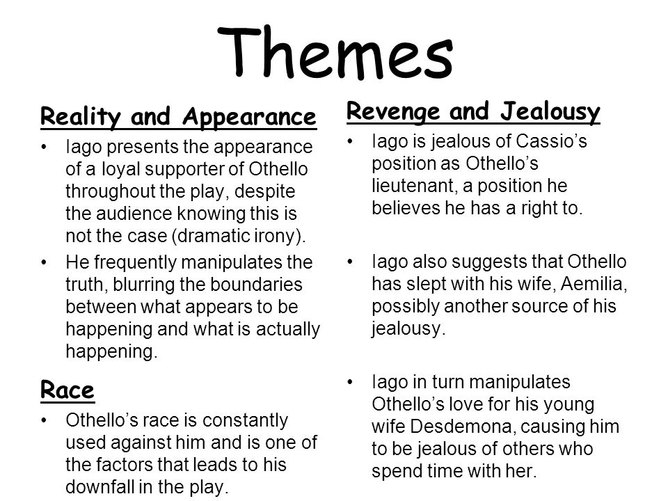 theme of loyalty in othello
