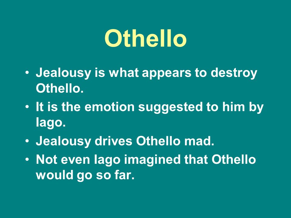 Types of power in othello