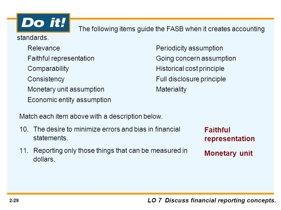 the faithful representation of reality Definition of faithful representation: the requirement for consistency between claims made in financial statements and economic reports and the actual financial state of the company accounting reports should reflect the accurate.